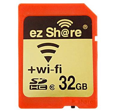 LZeal анонсировала новый продукт ezShare - SDHC с Wi-Fi