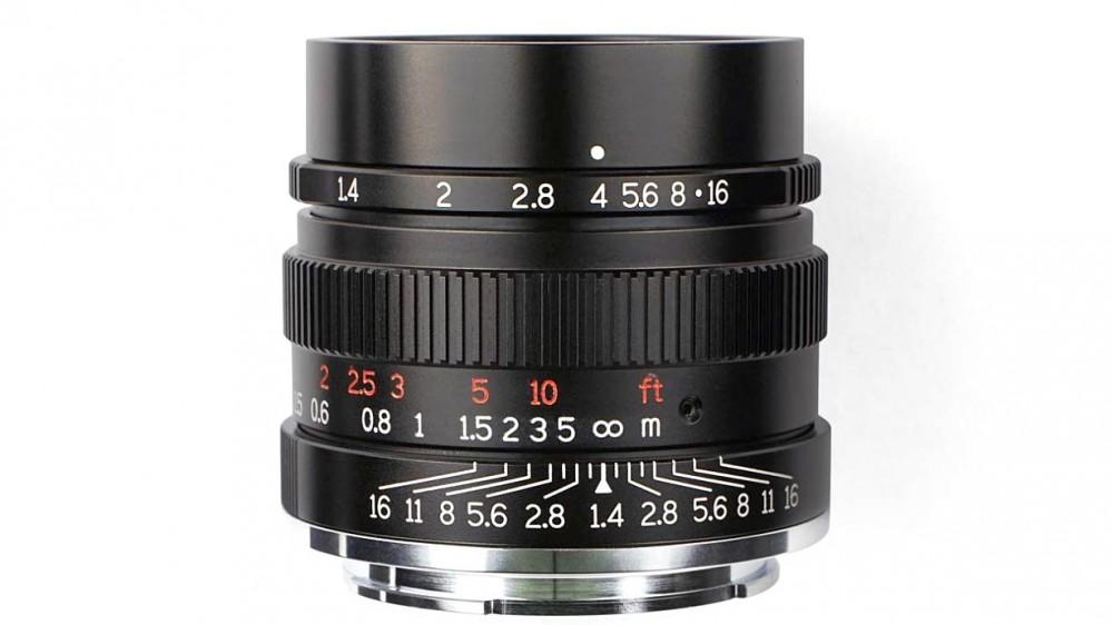 Анонсирован 7artisans 35mm f/1.4 FE для Sony