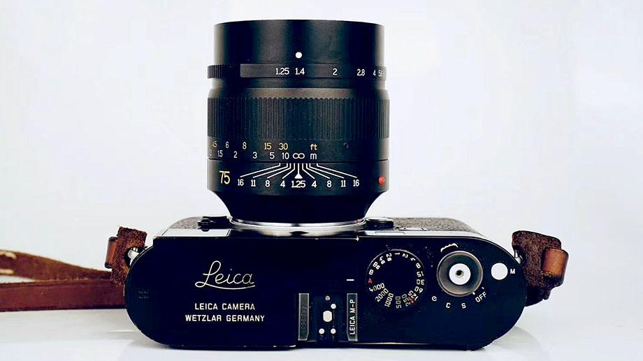 Бюджетный объектив 7artisans 75mm F/1.25 для Leica M будет выпущен 10 августа