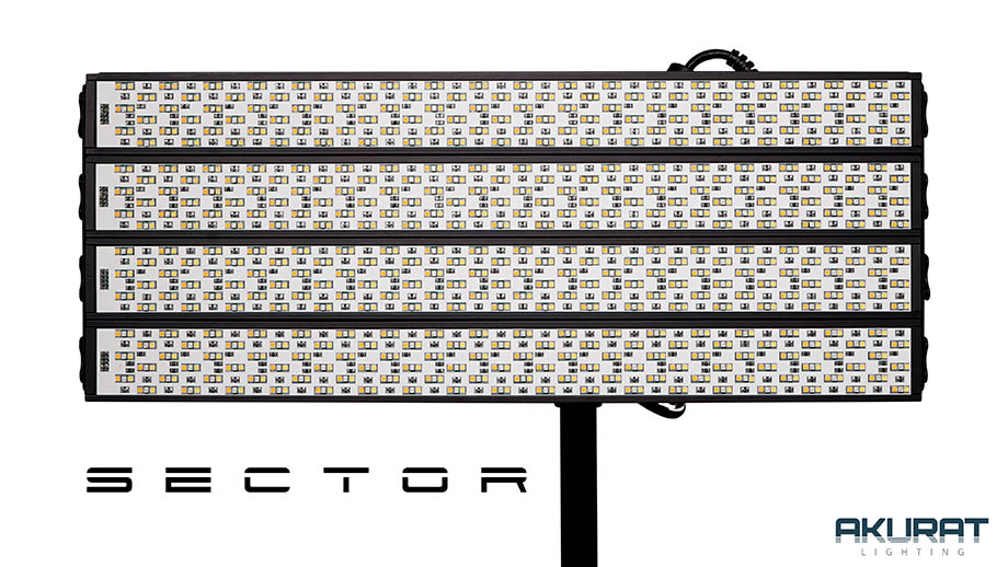 Анонсирован Akurat Sector – профессиональный модульный свет
