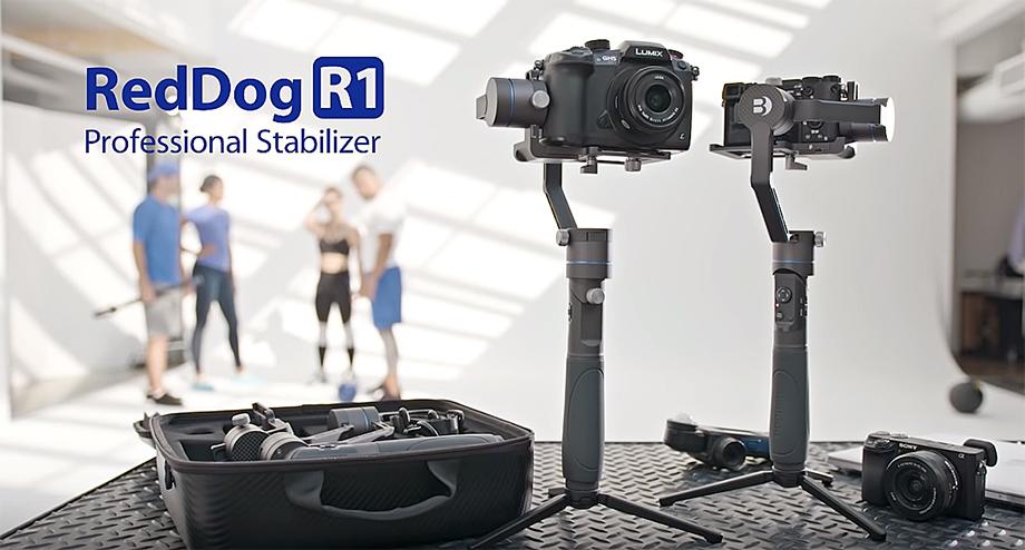 Benro выпустил недорогой стабилизатор RedDog R1