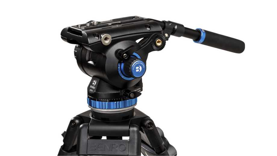 Benro представила новые головки для видео серии S Pro