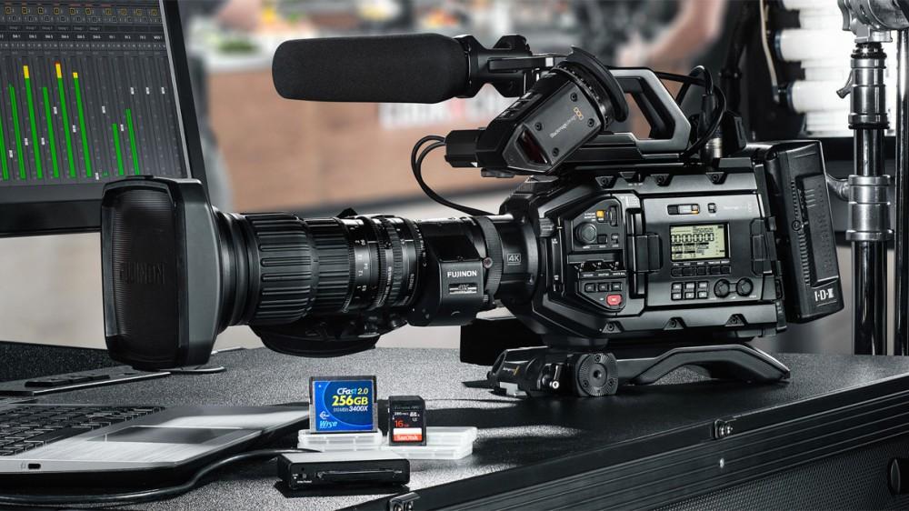 Blackmagic анонсировал камеру 4K UHD URSA Broadcast