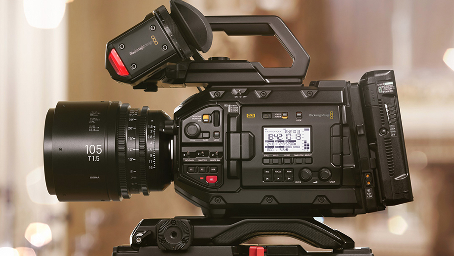 URSA Mini Pro 4.6K G2 – новое поколение камеры Blackmagic