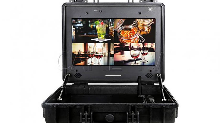 CAME-TV выпустил портативный режиссерский 4K монитор размером 17″ в специальном боксе