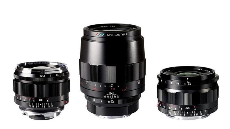 Компания Cosina анонсировала три объектива Voigtlander