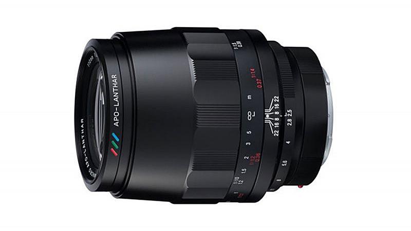Анонсирован Voigtlander 110mm F2.5 Macro для Sony E
