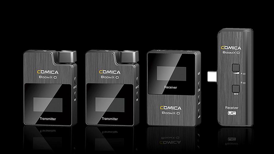 Comica BoomX-D – новая бюджетная радиосистема