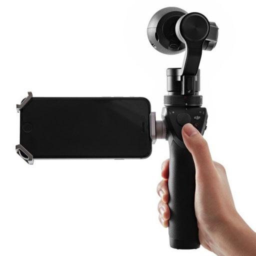 DJI представила устройство Osmo для видео- и фотоcъемки 4К/12МП