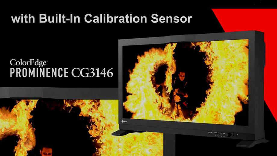 Монитор EIZO ColorEdge PROMINENCE CG3146 со встроенным датчиком калибровки