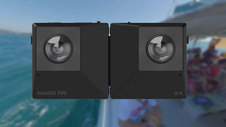 Складная камера Insta360 EVO снимает как 360°, так и 180° 3D