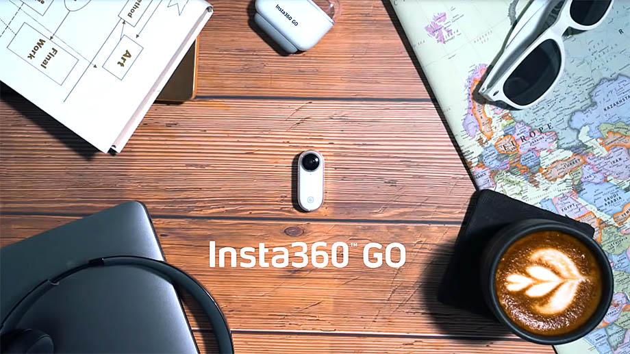 Insta360 GO – экшен-камера размером с батарейку