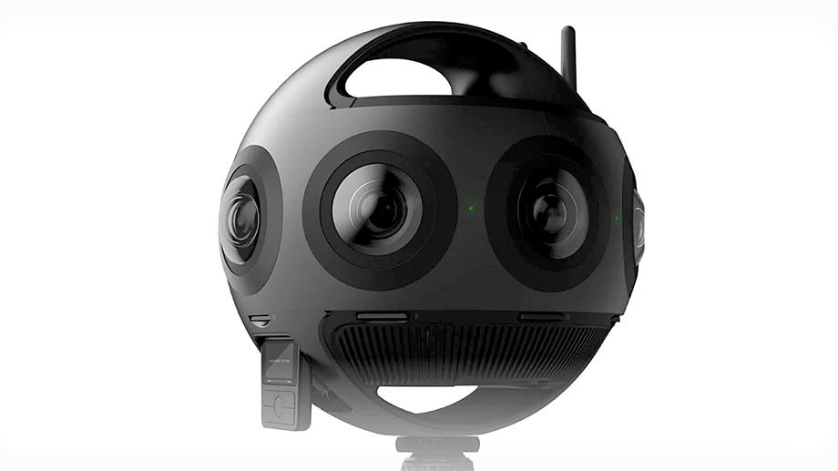 Insta360 Titan снимает VR-видео 11К