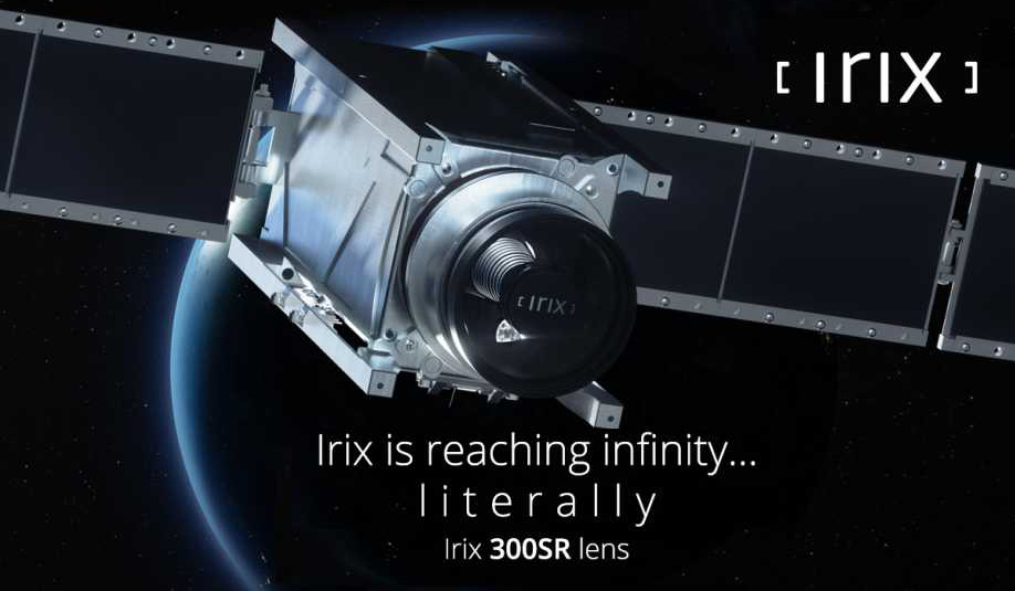Объектив Irix 300 f/5.6 SR стал космонавтом до анонса