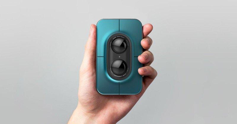 Концепция цифровой камеры мгновенной печати в эпоху смартфонов