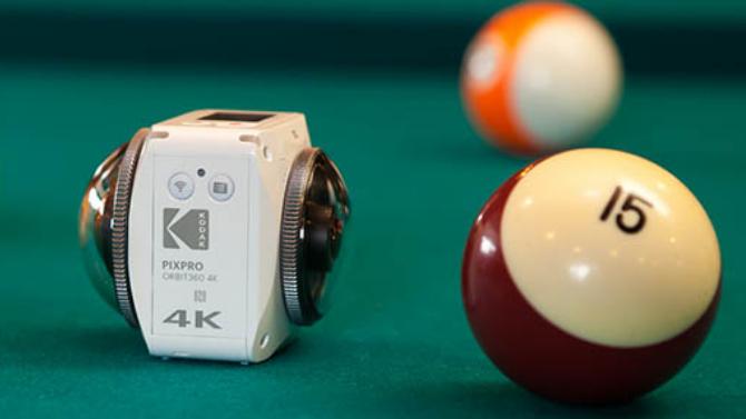 Камера Kodak PixPro Orbit360 поступила в продажу