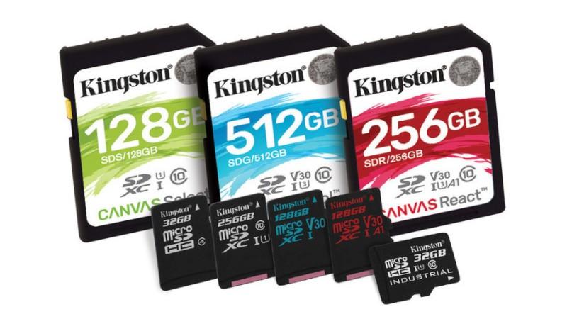 Kingston представила быстрые карты памяти серии Canvas