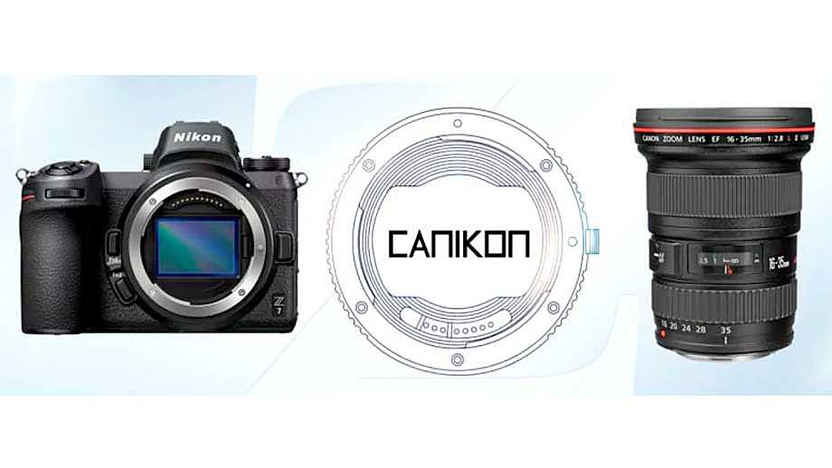 Первый в мире автофокусный адаптер Canon-Nikon от Kipon