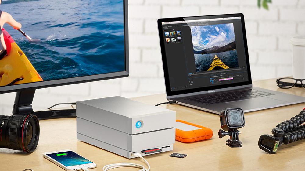LaCie 2big Dock – накопитель для фотографов и видеооператоров