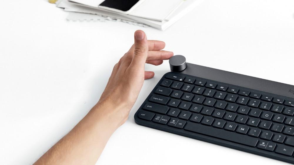 Клавиатура Logitech Craft для постообработки фото и видео