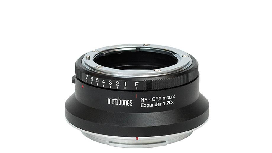 Metabones выпускает адаптер Nikon F – Fujifilm G с увеличением 1.26x