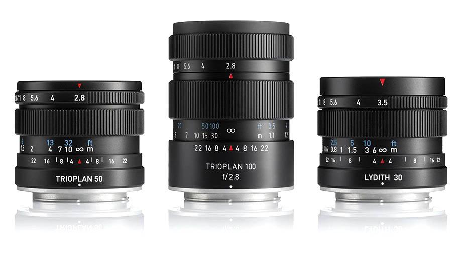 Представлены три новых объектива Meyer Optik