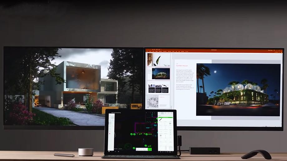 Microsoft представила новые Surface