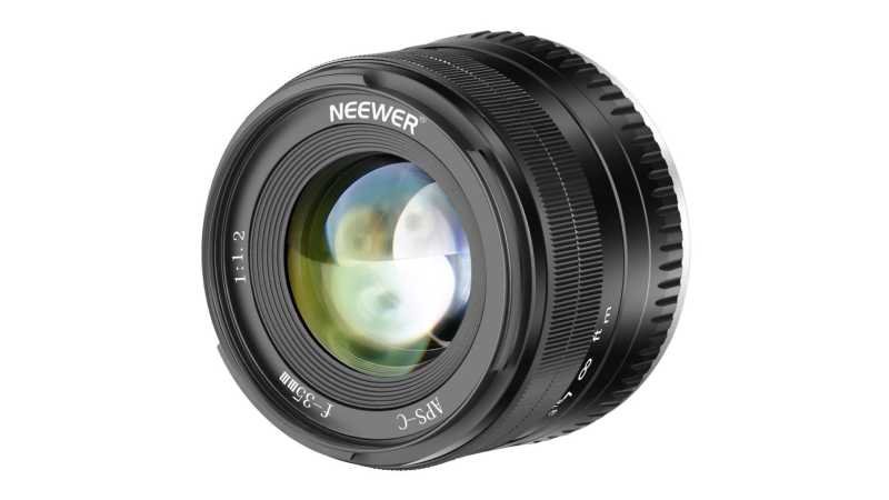 Объектив Neewer 35mm f/1.2 для Fujifilm и Sony