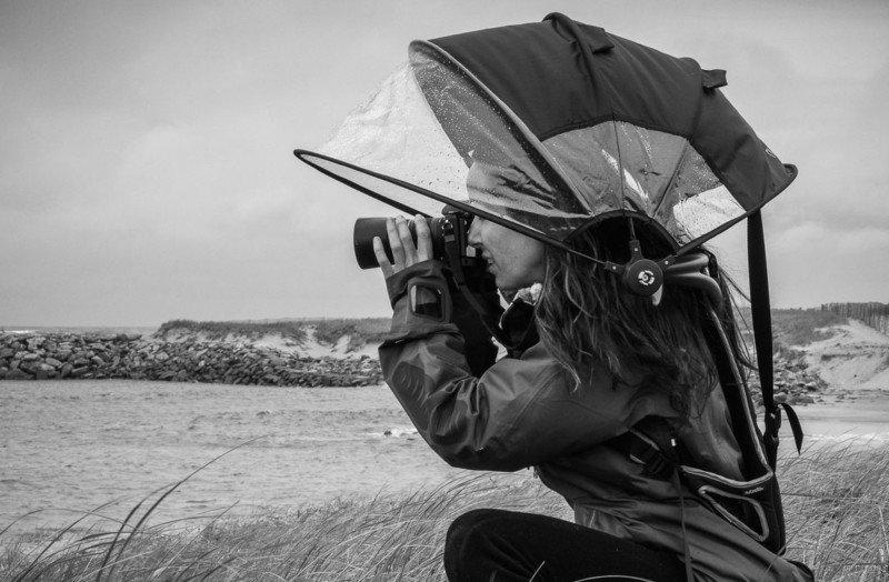 Nubrella – специальный зонт для фотографа