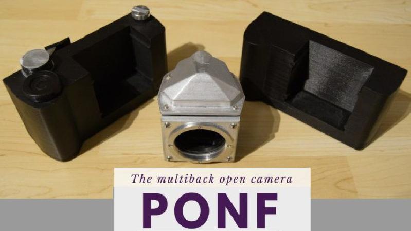 PONF – гибридная камера, которая будет снимать на цифру и пленку
