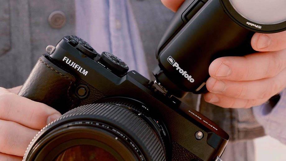 Вспышка Profoto A1X теперь и для камер Fujifilm
