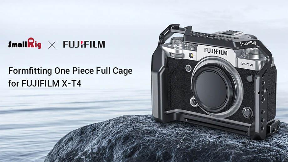 SmallRig анонсирует риг для Fujifilm X-T4