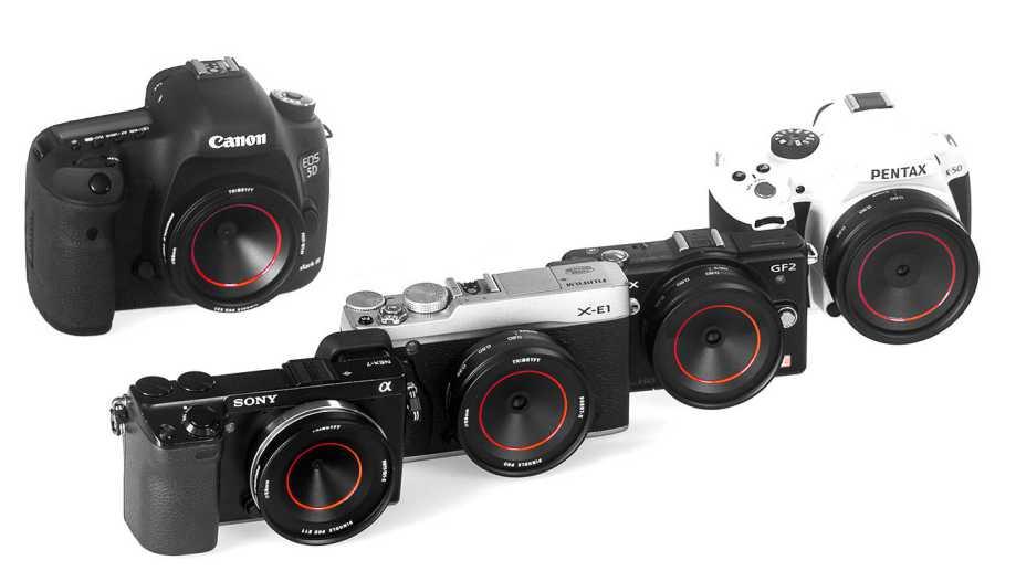 Thingyfy Pinhole Pro – пинхол-объективы для цифровых камер