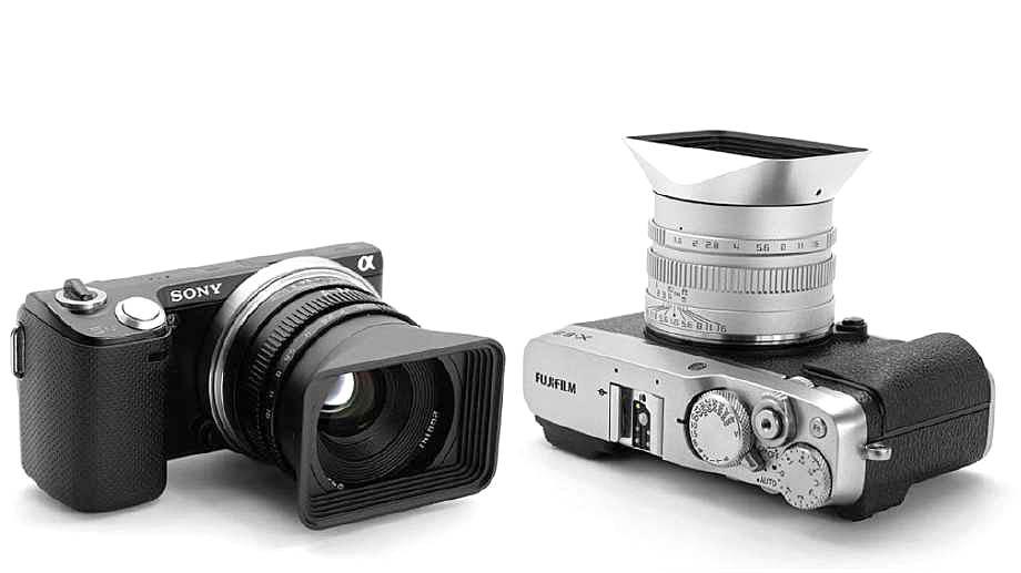 Leica? Fuji с блендой Zonlai!