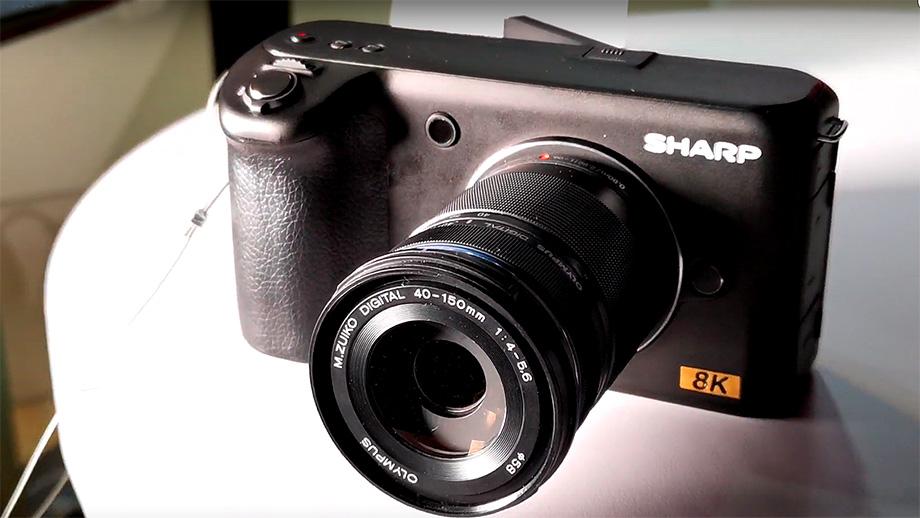 "Sharp показал камеру 8К с байонетом micro-4/3"""