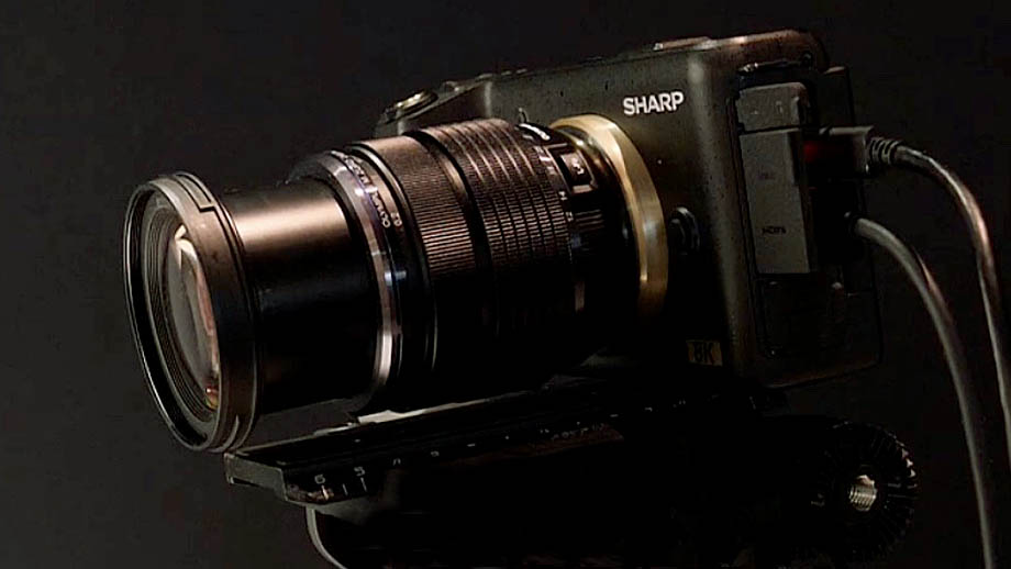 Sharp снова показал камеру 8К