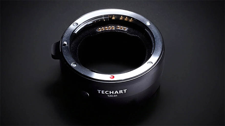 Адаптер Techart EF-to-Z – новый мост между байонетом Nikon Z и объективами Canon EF