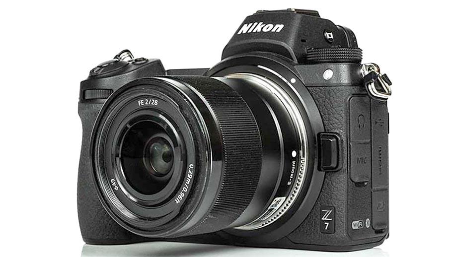 Первый в мире автофокусный адаптер Sony E - Nikon Z от Techart