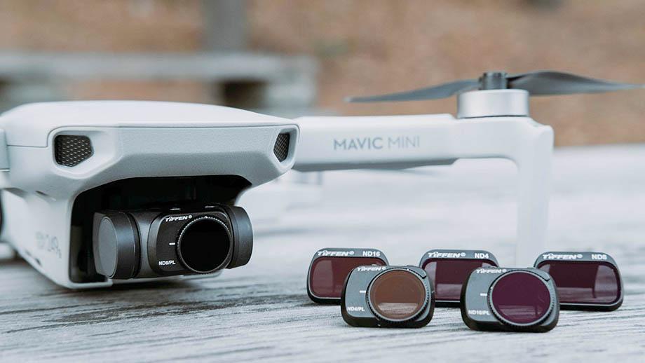 Tiffen анонсировала ND-светофильтры для DJI Mavic Mini