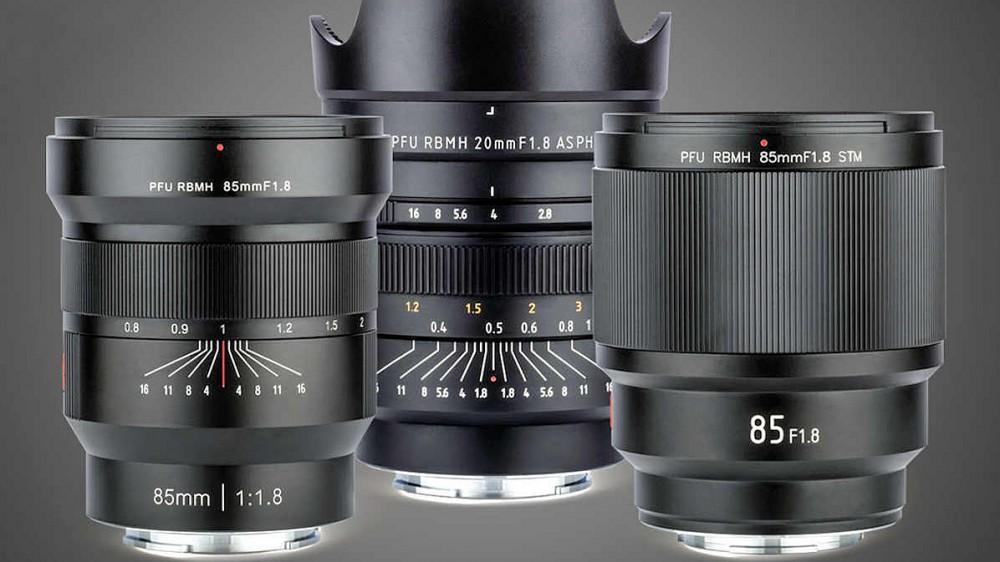 Компания Viltrox представила объективы 20mm f/1.8 ASPH и 85mm f/1.8