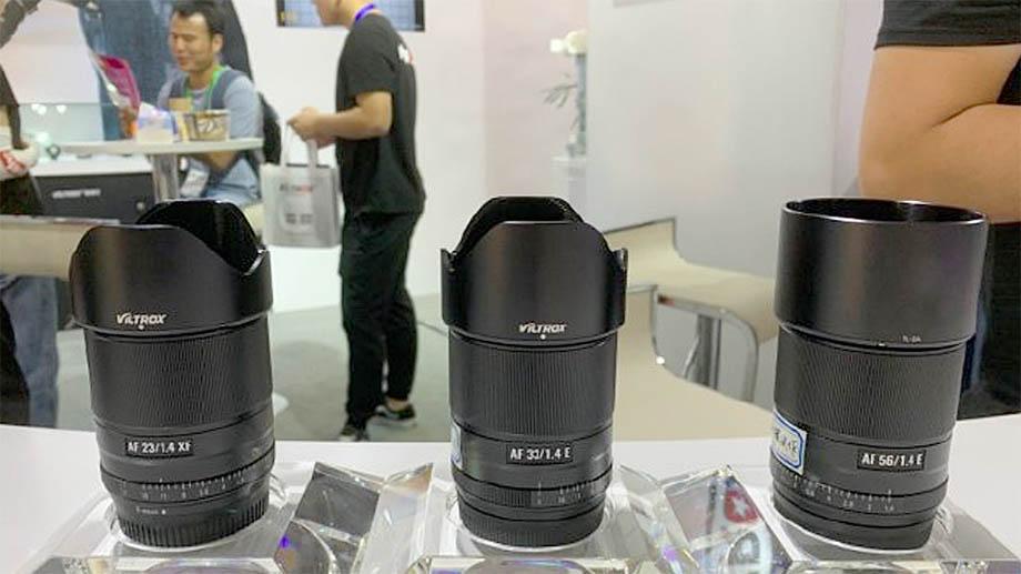 Готовятся новые объективы Viltrox 23/1.4, 33/1.4 и 56/1.4 для беззеркальных камер