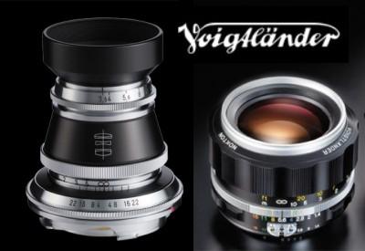 Анонсированы старые новые объективы Voigtlander Nokton 58/1.4 SL II S и Heliar 50/3.5 VM