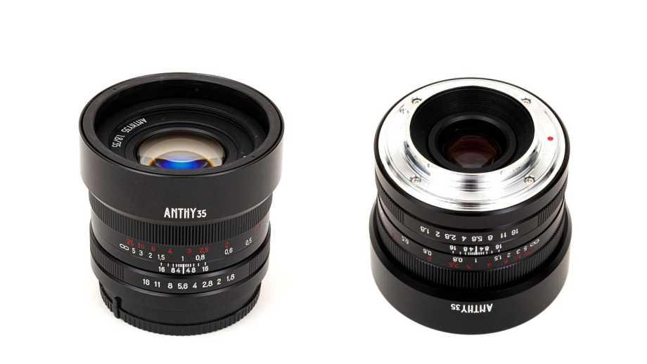 Японский объектив Yasuhara ANTHY 35mm f/1.8 для беззеркальных камер за $300