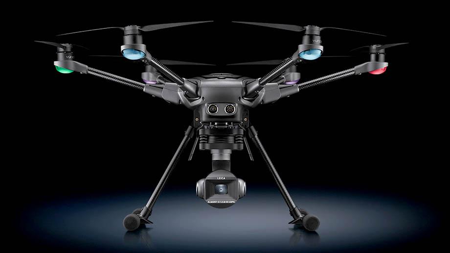 Yuneec + Leica = дрон Typhoon H3 за $2200