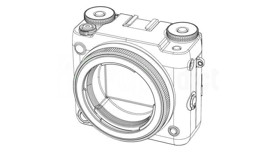Fuji патентует модульную версию среднеформатной камеры Fujifilm GFX