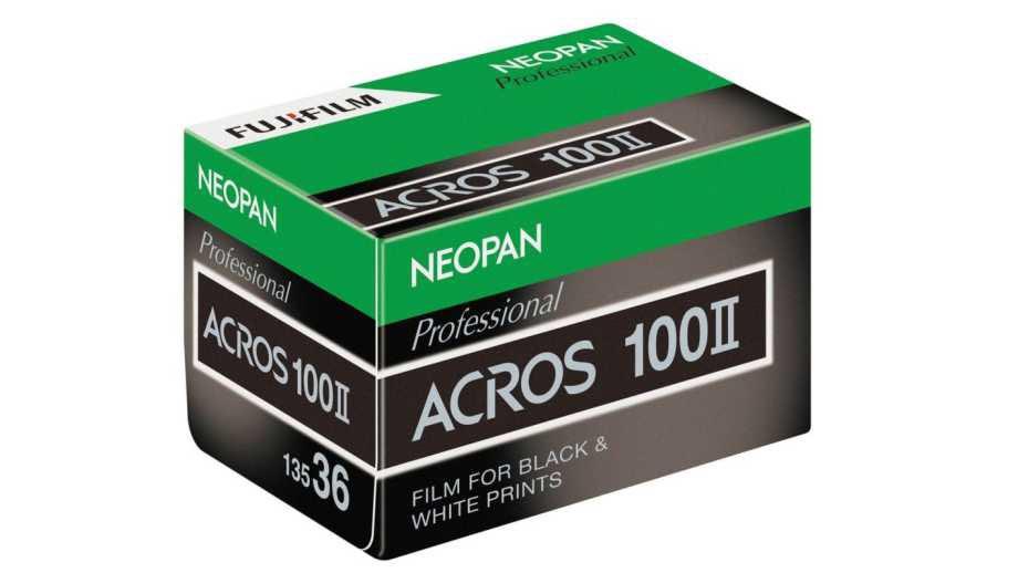 Fuji возрождает черно-белую пленку Fujifilm Neopan 100 Acros