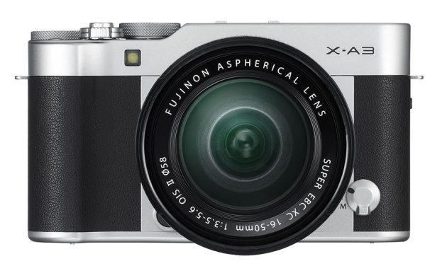 Fuji представила новую камеру X-A3 в ретро-стиле