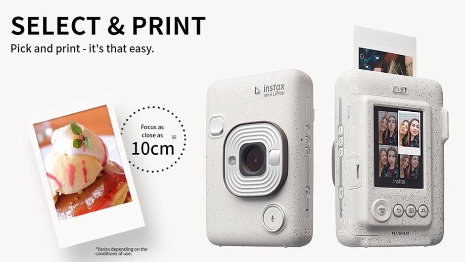 Fujifilm Instax Mini LiPlay официально анонсирована