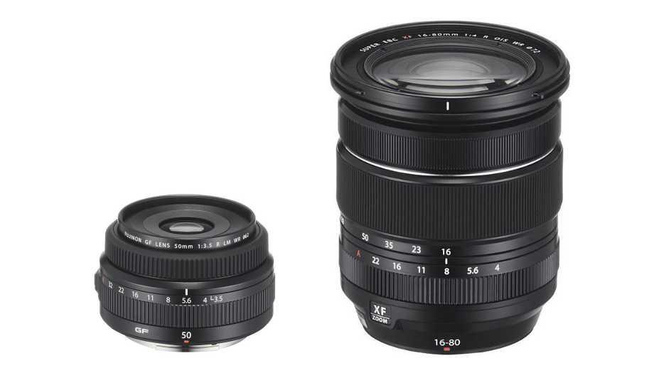 Fujifilm анонсировала FUJINON XF16-80mmF4 и FUJINON GF50mmF3.5 R LM WR