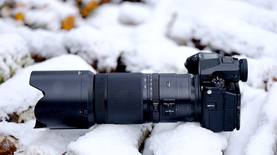 Анонсирован среднеформатный объектив Fujifilm GF 100-200mm f/5.6